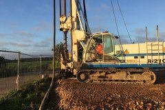CFA Piling on site at Colchester